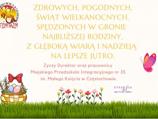 Thumbnail for the post titled: Życzenia Wielkanocne